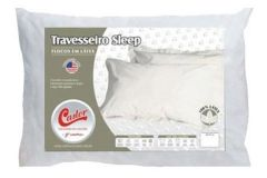 Travesseiro Castor Sleep Flocos de Látex